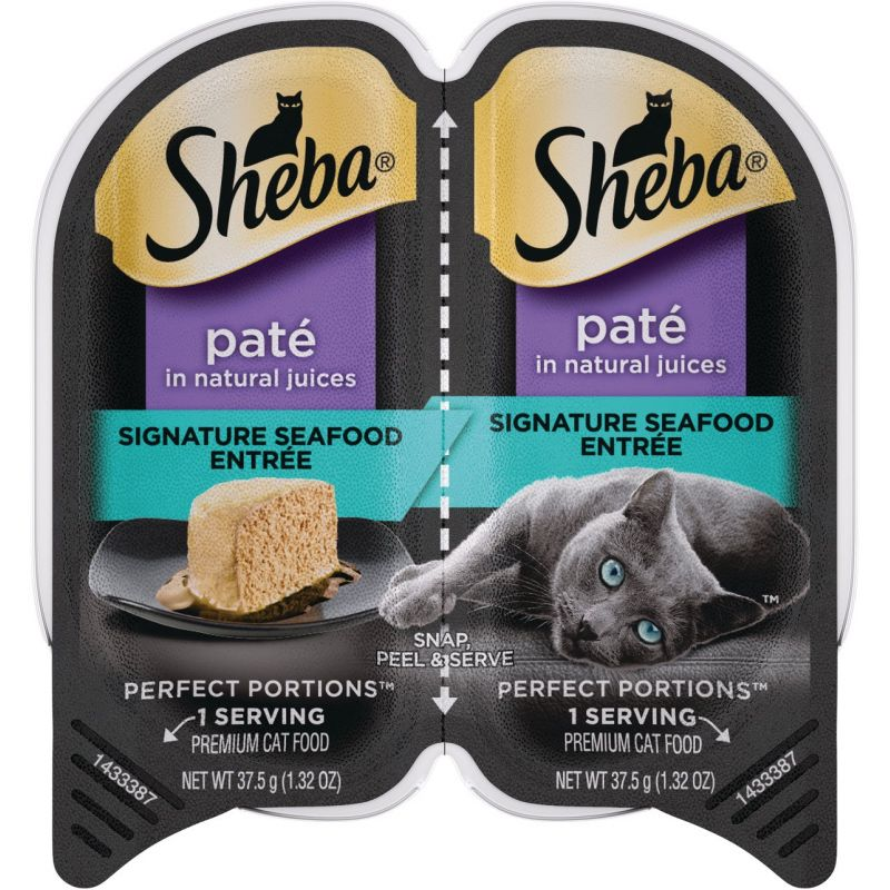 Sheba Perfect Portions Pate Wet Cat Food 2.6 Oz.