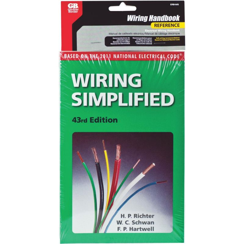 "Electrical Wiring Simplified Pocket Reference Book Appx 5"" X 7"""