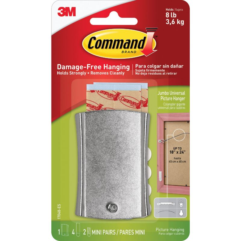 Command Adhesive Metal Wire-Back Picture Hanger