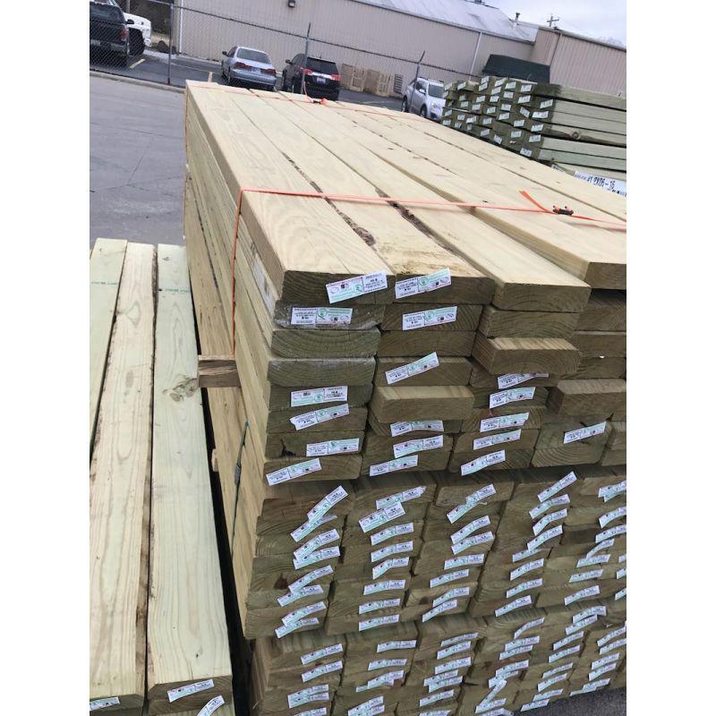 "2"" x 6"" x 8' #1 MCA Pressure Treated Lumber"