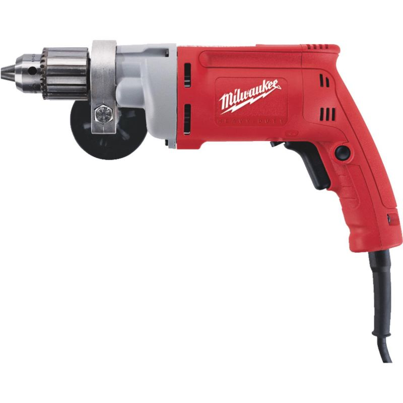 Milwaukee Magnum 1/2 In. VSR Electric Drill with Textured Grip 1/2 In., 8A