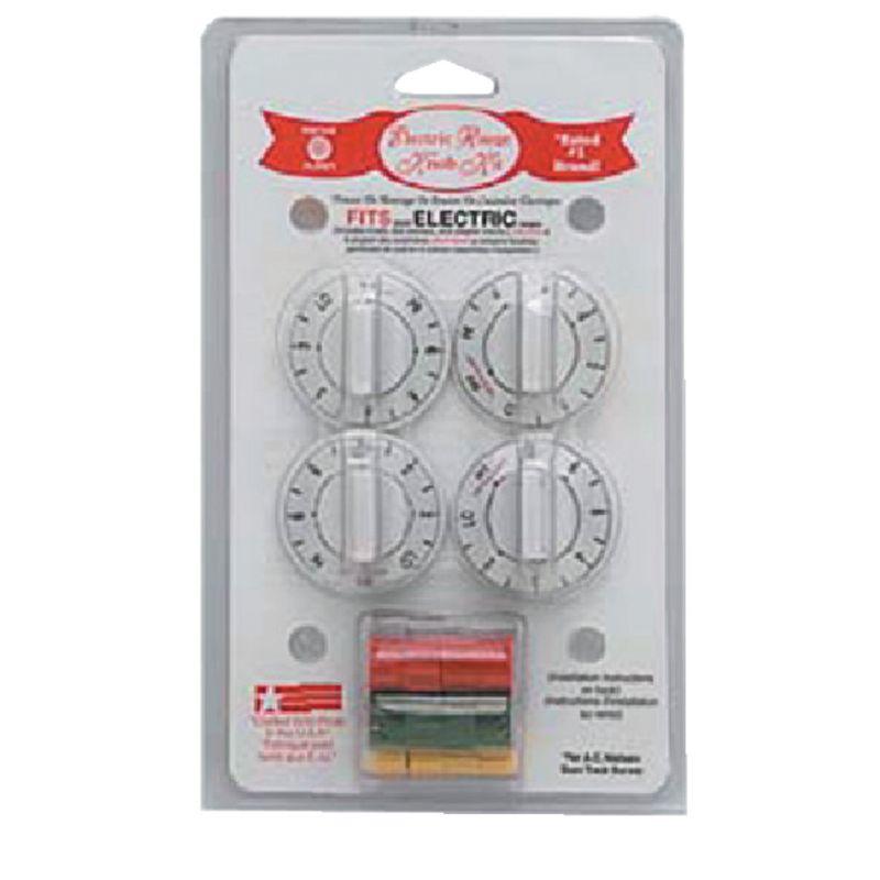 Range Kleen Replacement Electric Range Knob Kit Universal