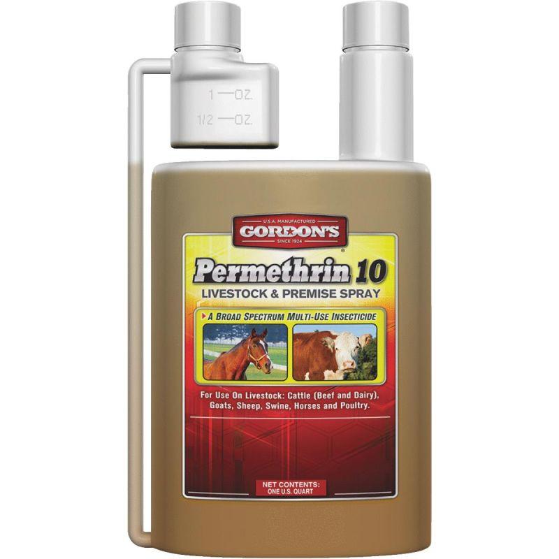Gordons Permethrin-10 Fly Spray 32 Oz., Trigger Spray