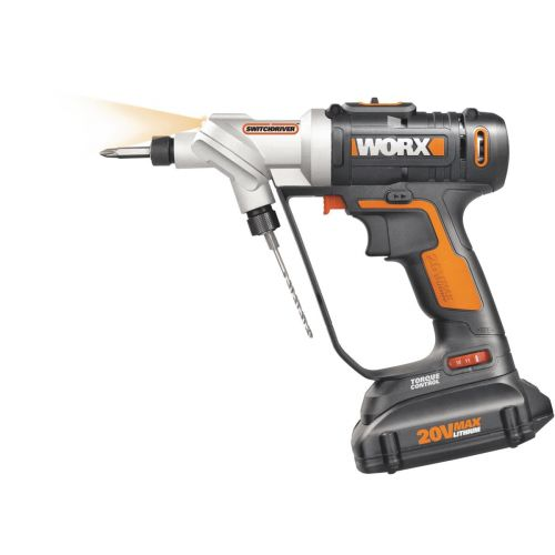 WORX 20V Switchdriver Lithium-Ion Cordless Drill/Driver Kit