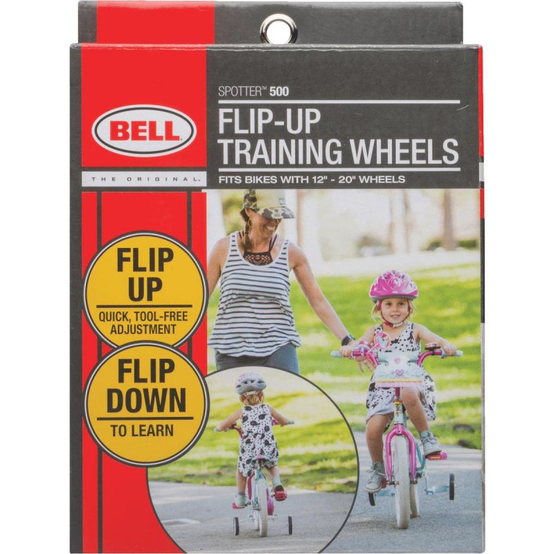 Bell Sports EZ Training Wheels White