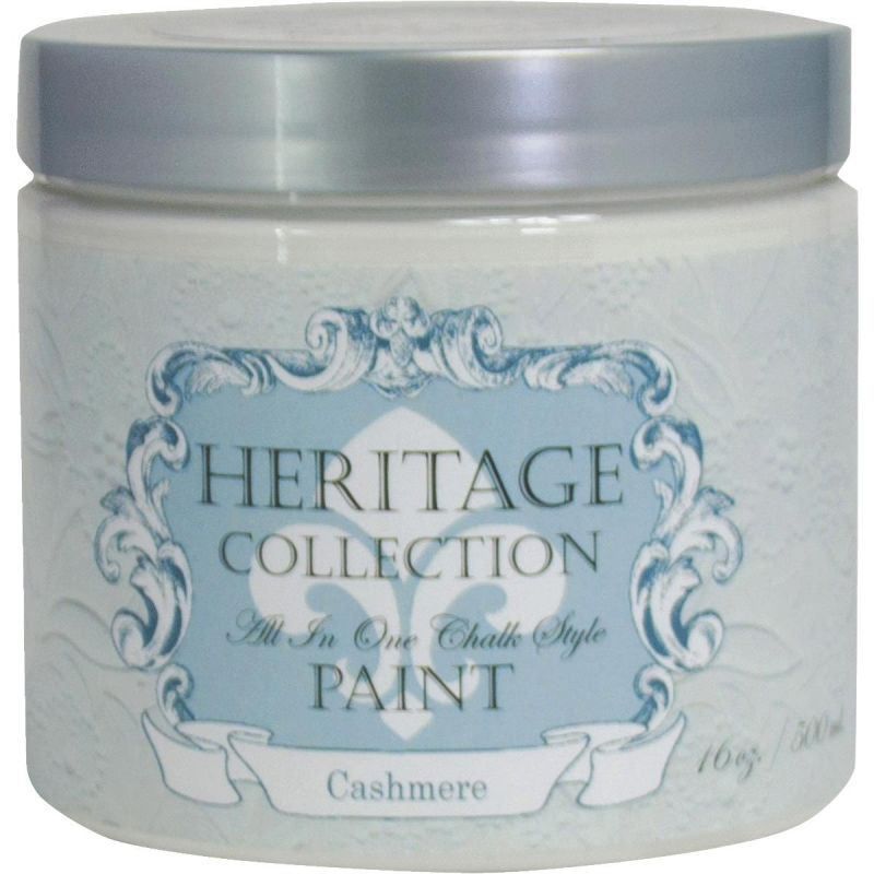 All-In-One Chalk Style Paint Cashmere - White Pint