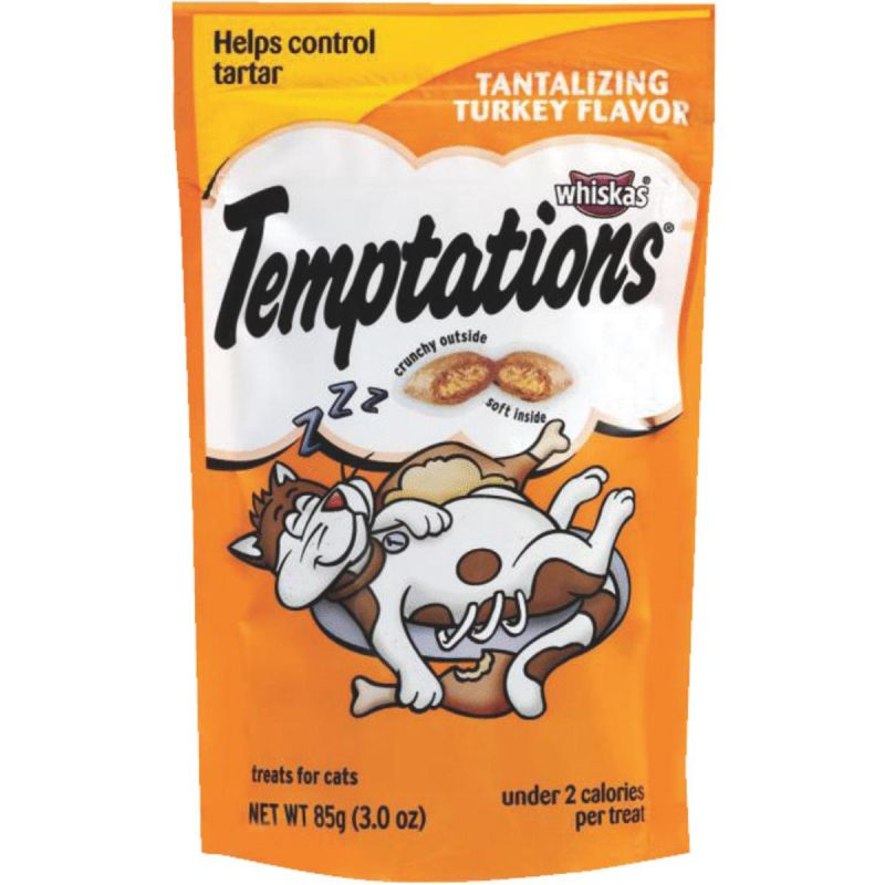Whiskas Temptations Cat Treat 3 Oz