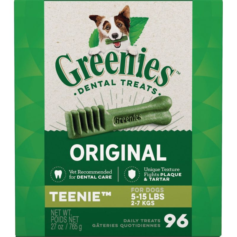 Greenies Dental Chew Dog Treat 27 Oz.
