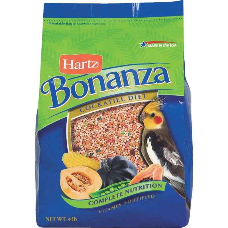 Hartz Bonanza Cockatiel Gourmet Diet Bird Food 4 Lb.