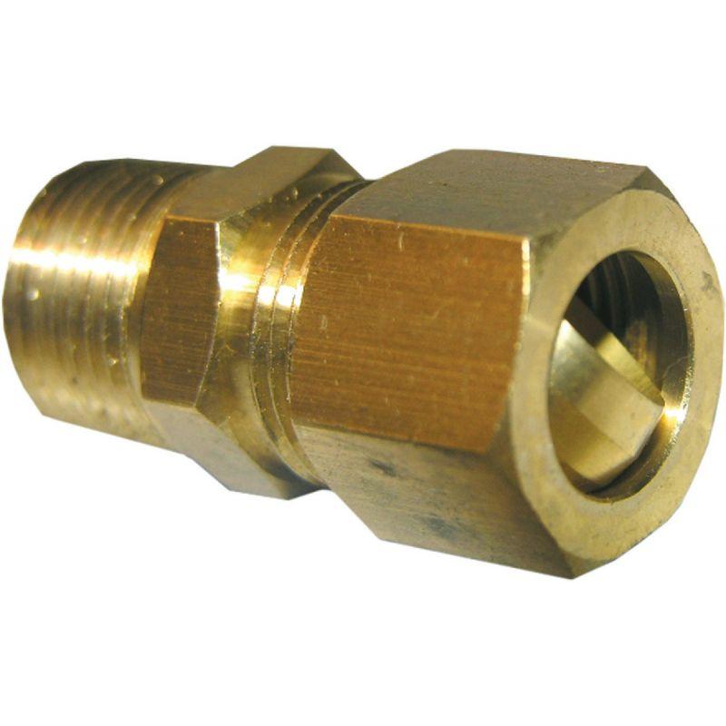 """Lasco Compression X Male Pipe Thread Adapter 1/2"""" C X 3/8"""" MPT"""