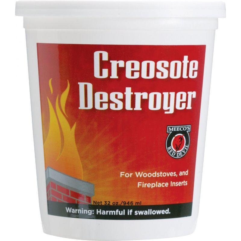 Meeco's Red Devil Powdered Creosote Remover 2 Lb.