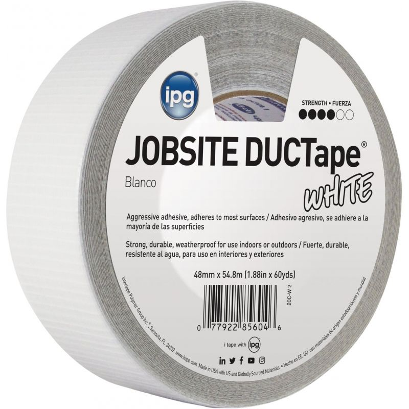 Intertape AC20 DUCTape General Purpose Duct Tape White