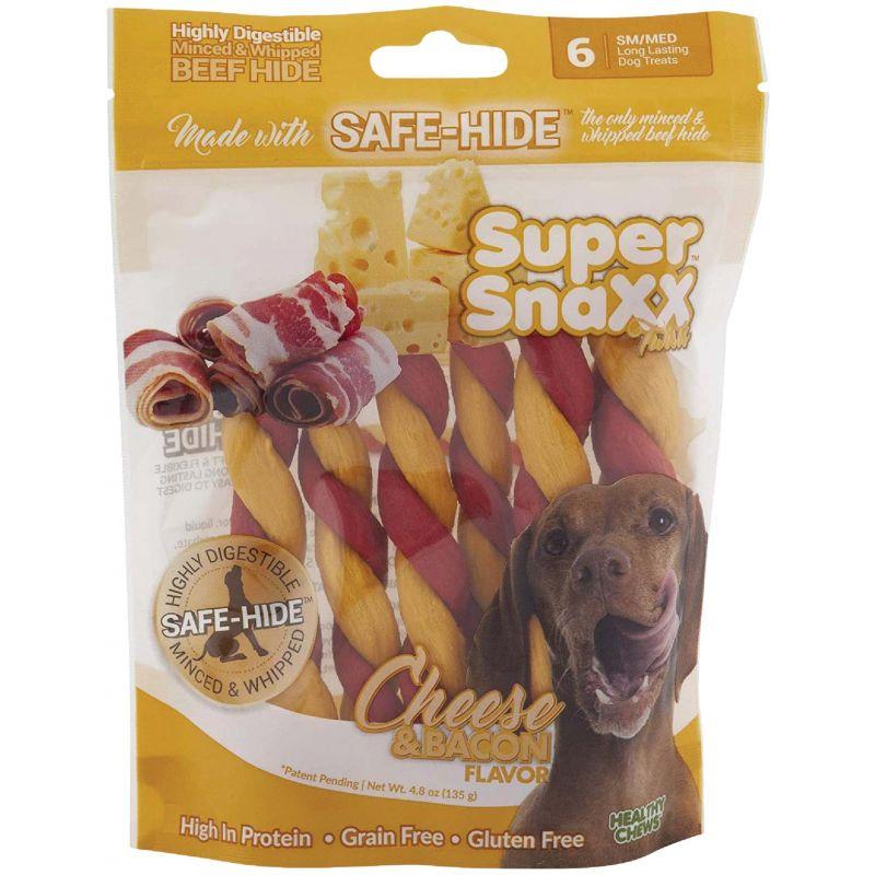 Healthy Chews Super SnaXX Twists Dog Treat 6-Pack
