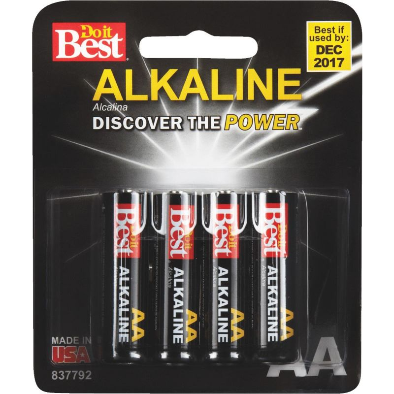 Do it Best AA Alkaline Battery 2535 MAh