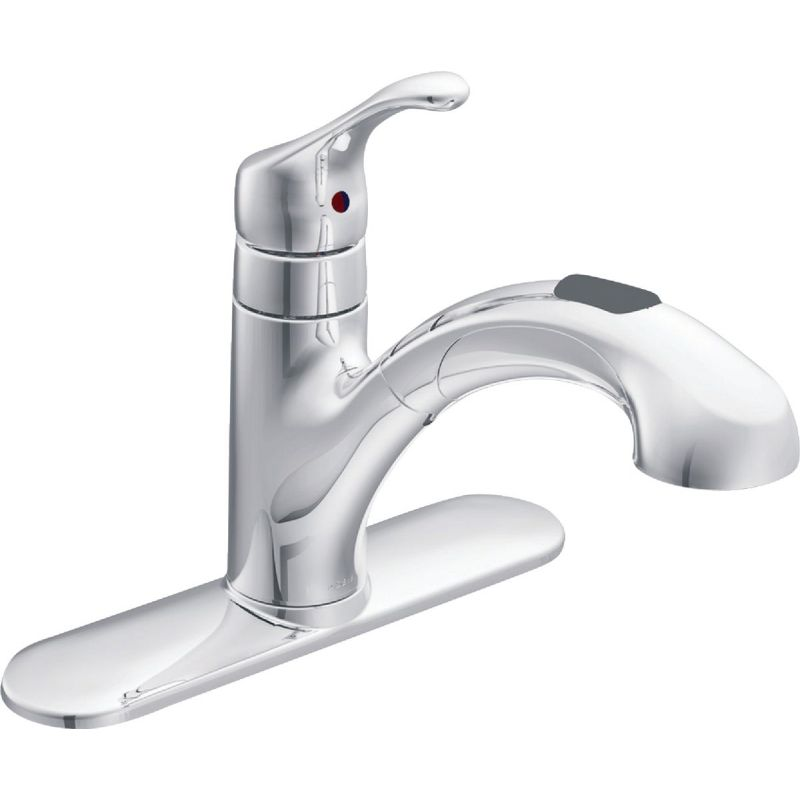 Moen Renzo Single Handle Pull-Out Kitchen Faucet