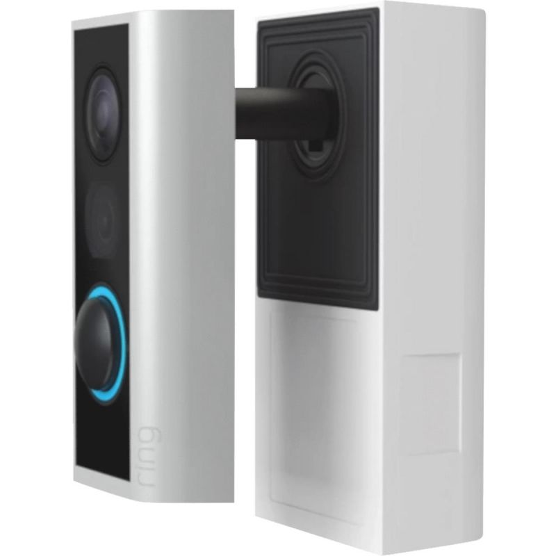 Ring Peephole Video Doorbell Satin Nickel
