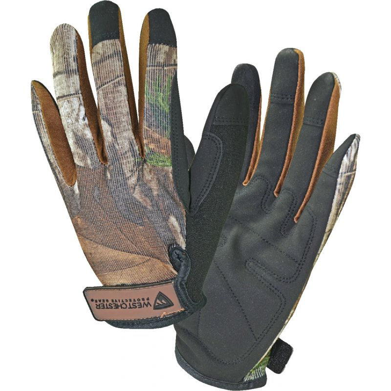 West Chester Protective Gear Realtree Xtra High Dexterity Work Glove L, Camouflage