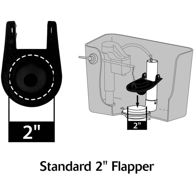 Korky Universal Flapper Black