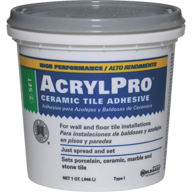 AcrylPro Ceramic Tile Adhesive Qt.