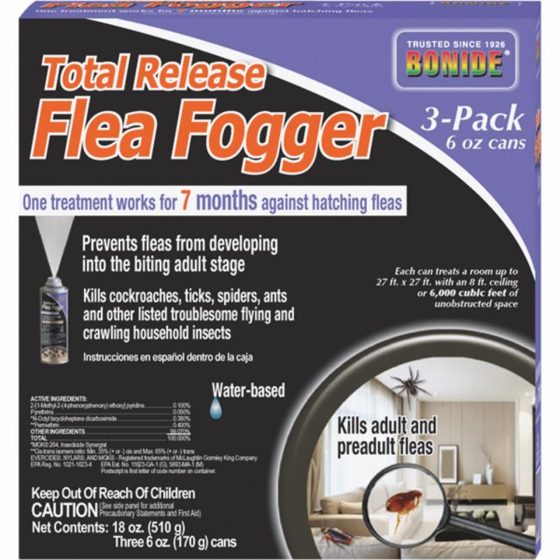 Bonide Flea Indoor Insect Fogger 6 Oz.