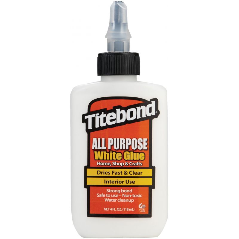 Titebond White All-Purpose Glue 4 Oz., White