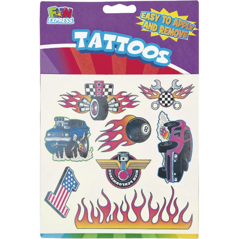 Fun Express Temporary Tattoos Assorted (Pack of 12)