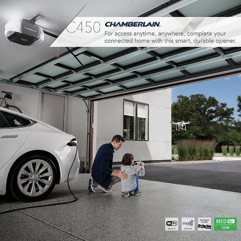 Chamberlain C-450 1/2 HP Chain Drive Garage Door Opener