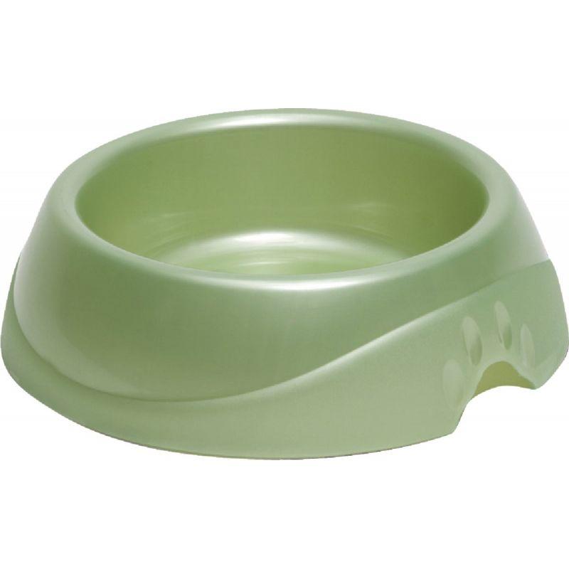 Petmate Designer Pet Food Bowl Jumbo, Speckled Dove, Blue, Or Red