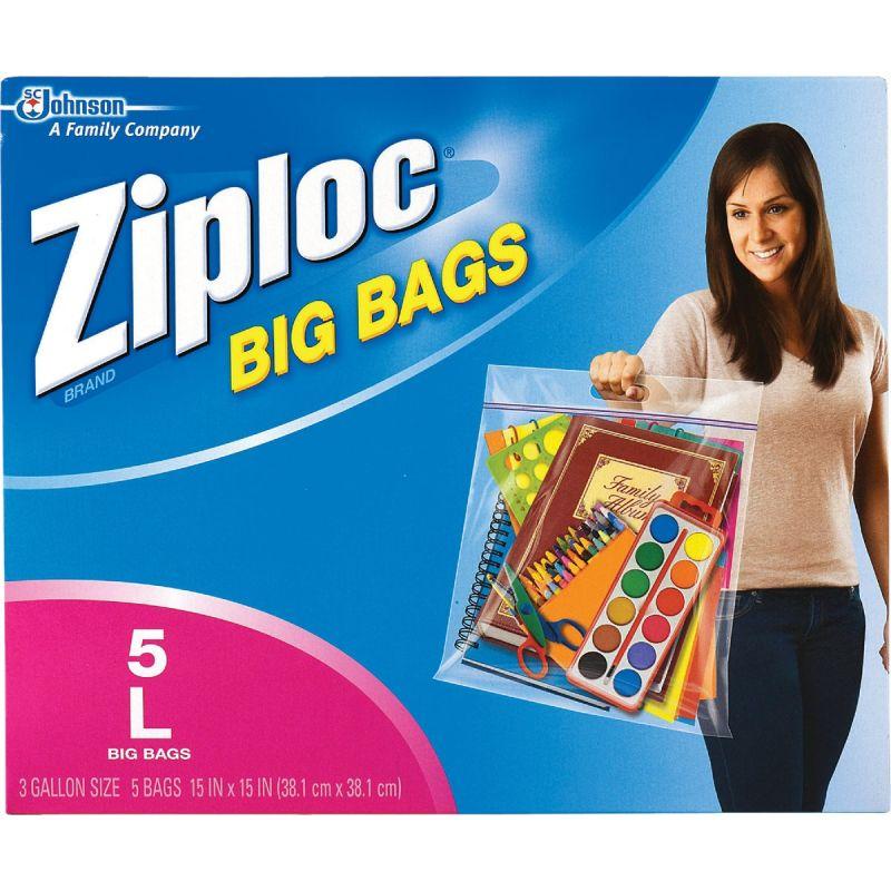 Ziploc Big Storage Bag Clear