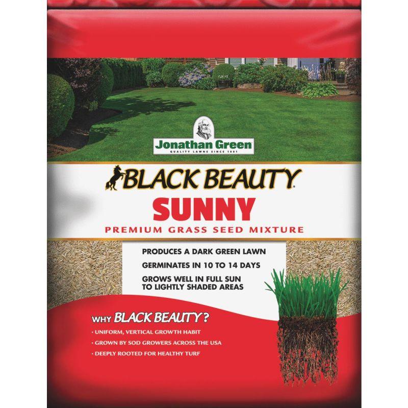 Jonathan Green Black Beauty Full Sun Grass Seed Mixture 3 Lb., Medium Texture, Dark Green Color