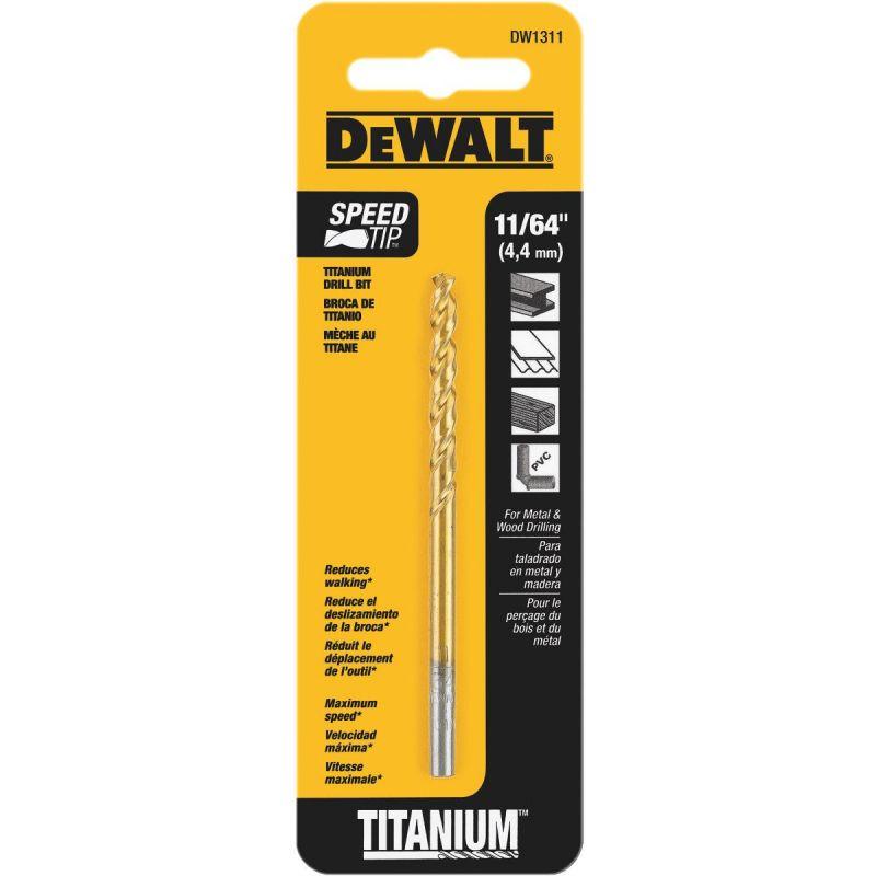 DeWalt Titanium Drill Bit 11/64 In.