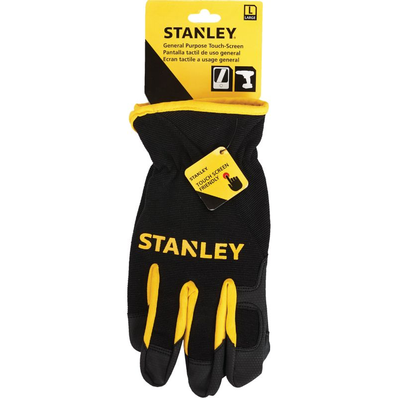 Stanley Touch Screen High Performance Glove L, Black