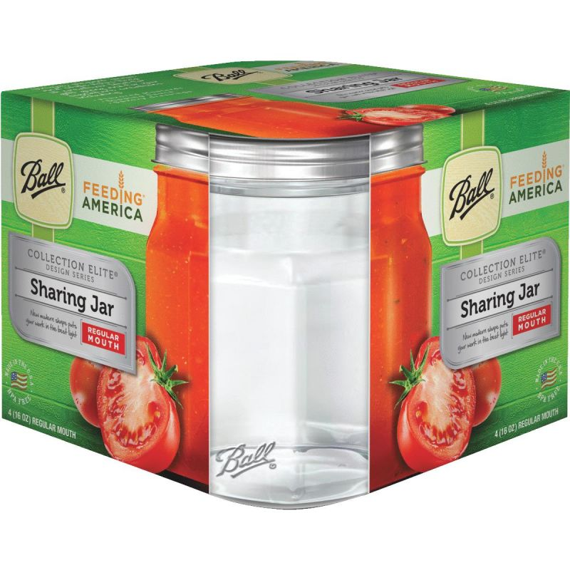 Ball Collection Elite Sharing Canning Jar Pint