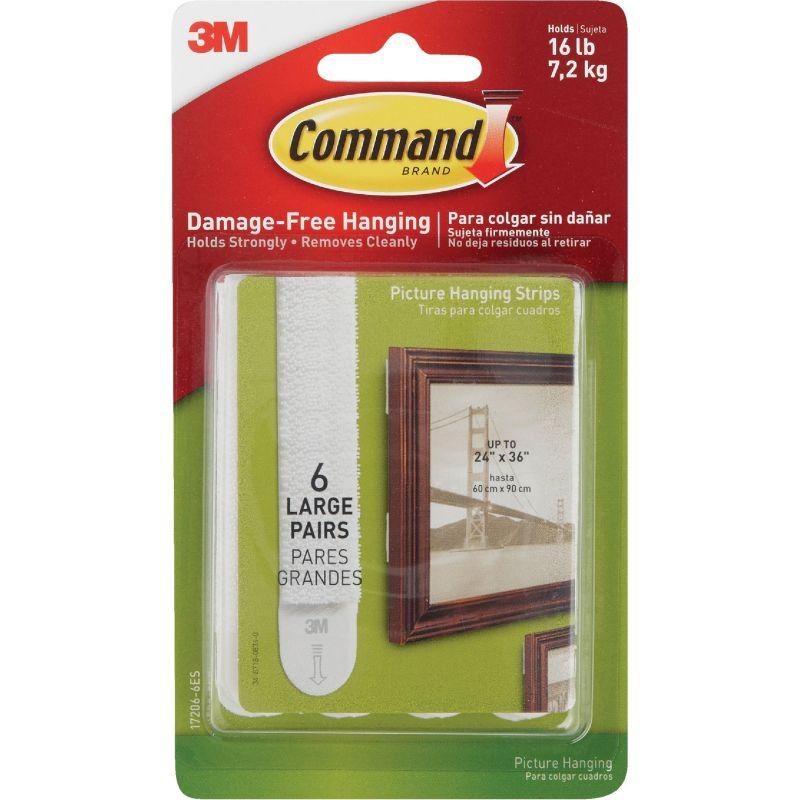 Command Interlocking Picture Hanger White