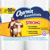 Charmin Essentials Strong Toilet Tissue (Pack of 10)