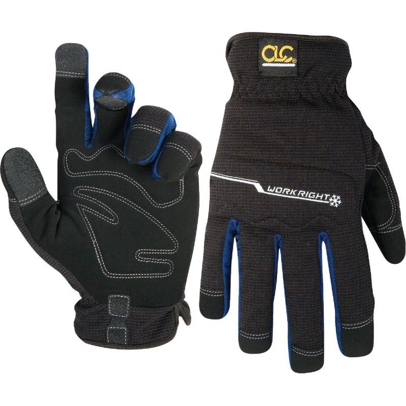 CLC Workright Flex Grip Winter Work Glove L, Black
