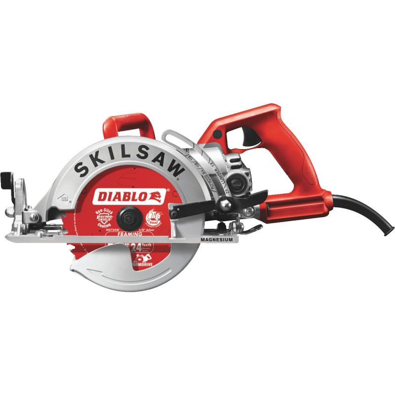 SKILSAW 7-1/4 In. Magnesium Worm Drive Circular Saw 15A