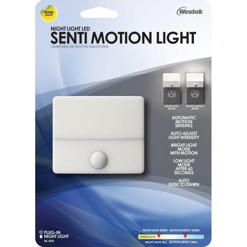 Westek Senti Motion LED Night Light White