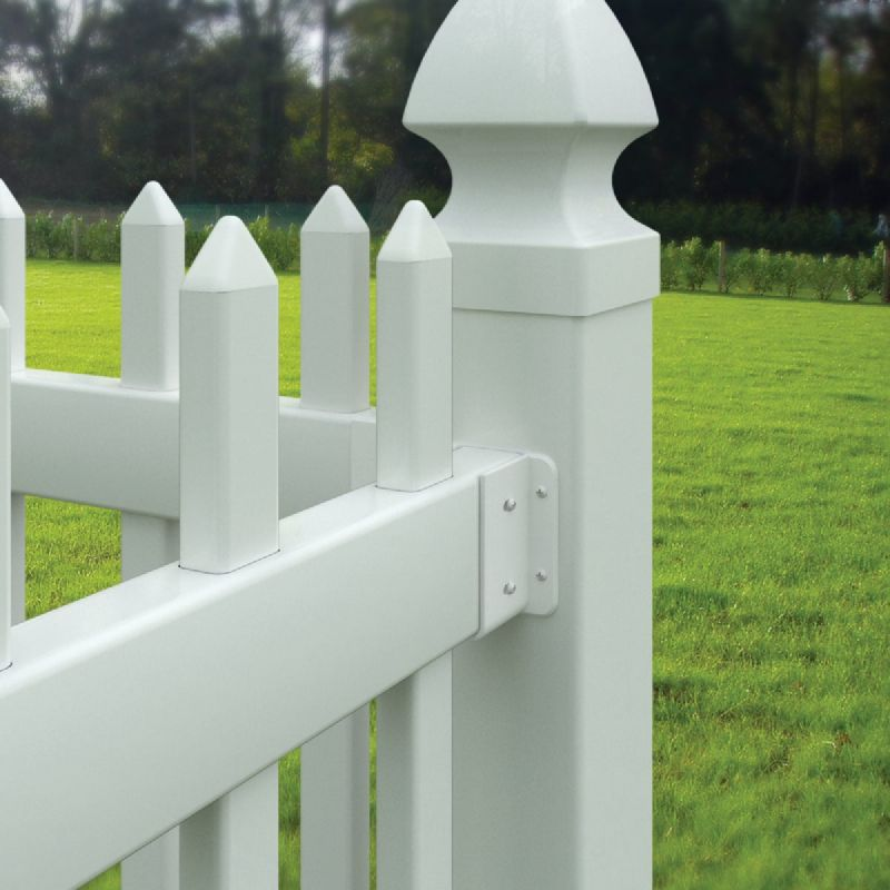 Outdoor Essentials Fence Panel Mounting Kit White