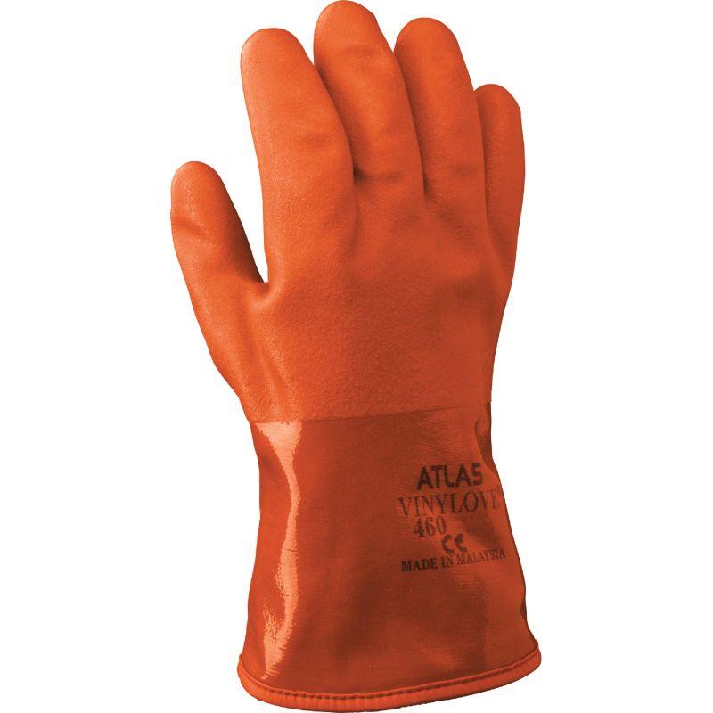 Atlas PVC Winter Work Glove L, Orange