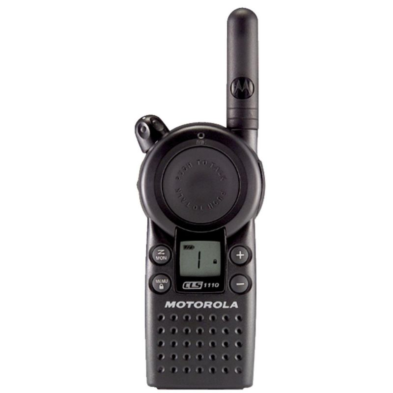 Motorola 2-Way Radio 12 Hr., Black