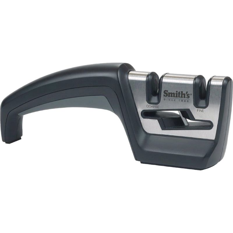 Smith's Pull-Thru Knife & Scissor Sharpener Black