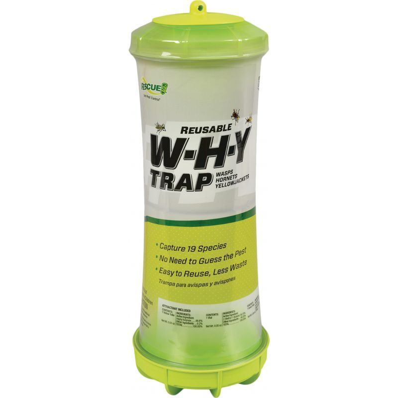 Rescue WHY Wasp, Hornet, & Yellow Jacket Trap