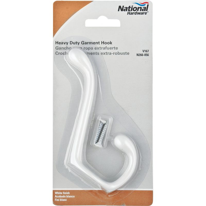 National Gallery Series Heavy-Duty Coat And Hat Hook