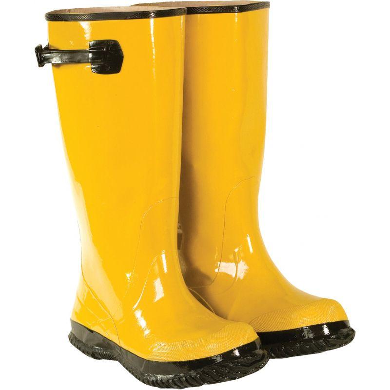 CLC Rubber Slush Overboot Shoe Size 17, Yellow