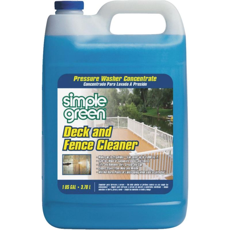 Simple Green Deck & Fence Pressure Washer Concentrate Cleaner 1 Gal.