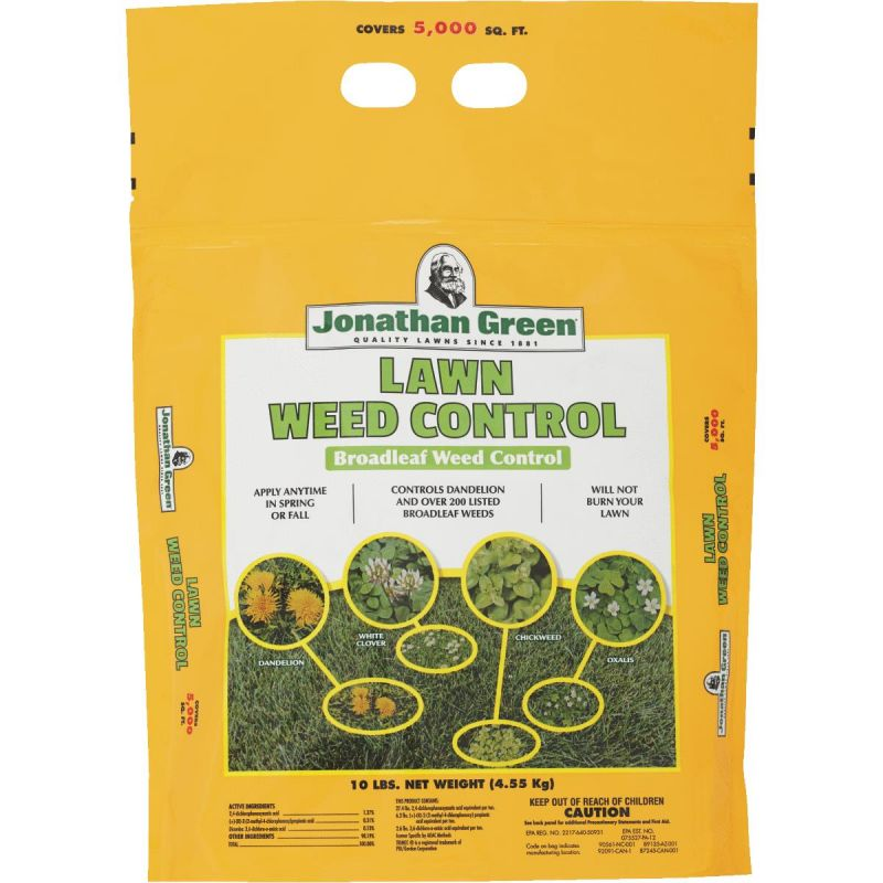Jonathan Green Lawn Weed Control Weed Killer 10 Lb., Broadcast