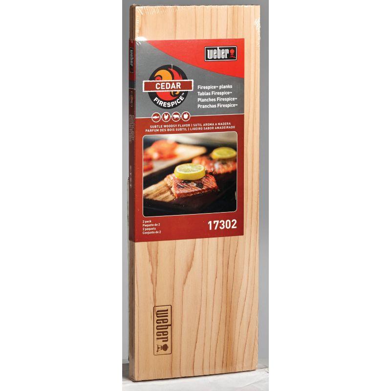Weber Firespice Cedar Smoke Plank