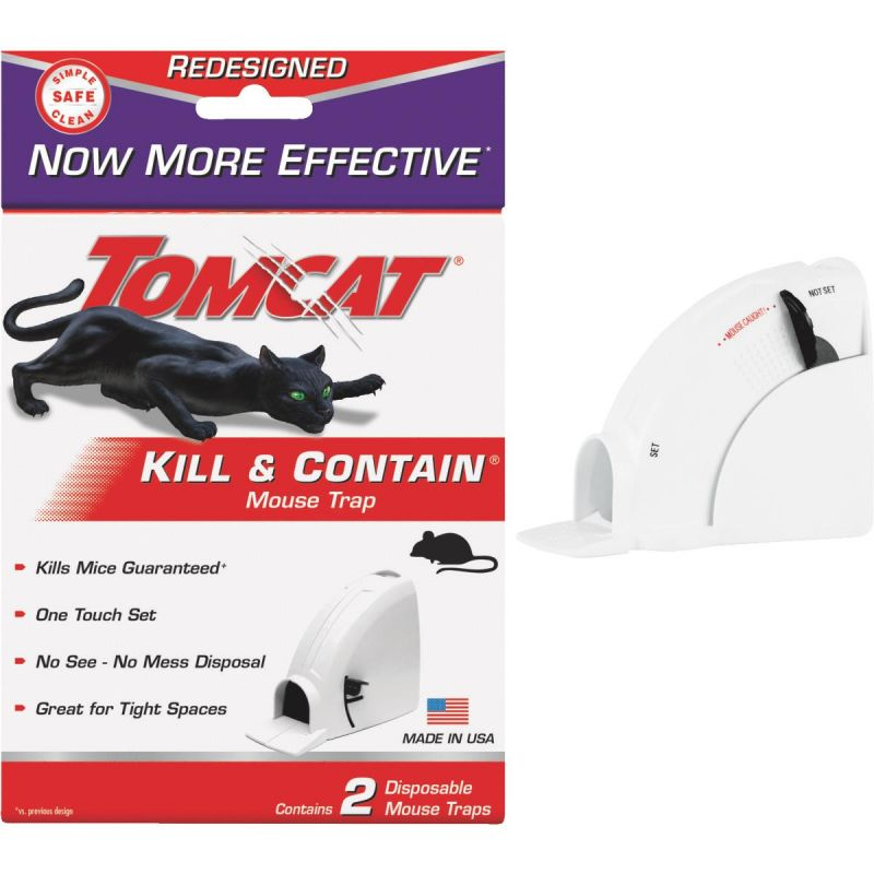 Buy Tomcat Kill & Contain Mouse Trap