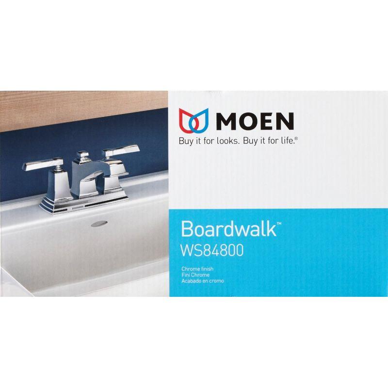 Moen Boardwalk 2-Handle Centerset Bathroom Faucet With Pop-Up